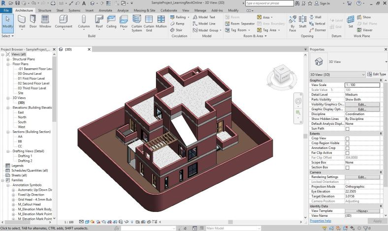 Learning Revit Online | Learn Autodesk® Revit® with FREE